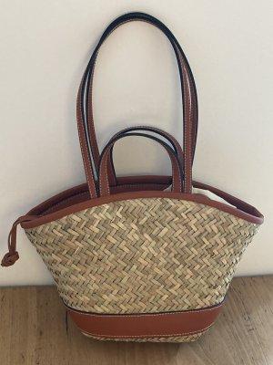 AndOtherStories Basket Bag sand brown hemp