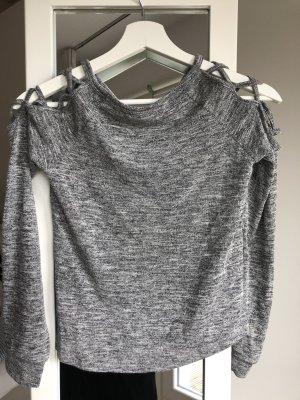 Körperbetontes Langarm-Shirt