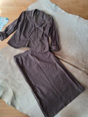 Airfield Ladies' Suit dark brown