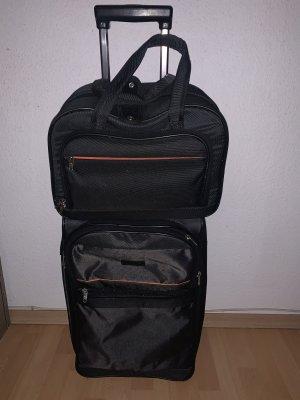 Koffer donkergrijs-antraciet