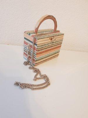 koffertasche von ZARA gold
