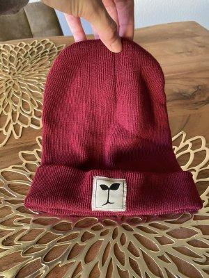 Koffi Bonnet rouge foncé-rouge carmin