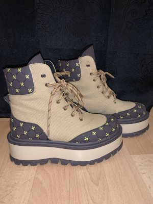 koi footwear Stivale con plateau multicolore