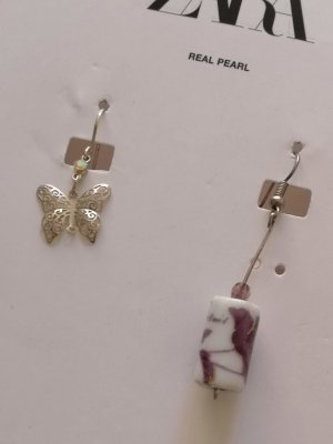 Kombi Ohrringe Set Butterfly & Ceramic