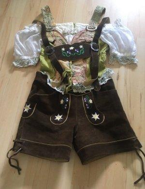 Pantalon bavarois multicolore