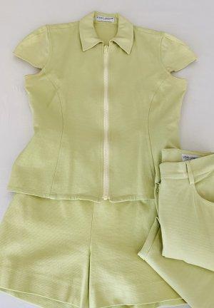 Louis London Tailleur pantalone giallo lime