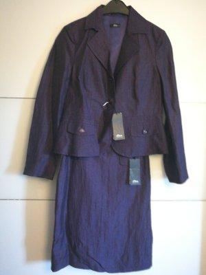 s.Oliver Ladies' Suit brown violet