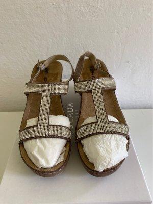 Komfort-Sandalen von Rohde Gel Massage Gr.38