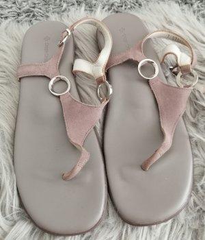 Green Cross Comfort Sandals nude