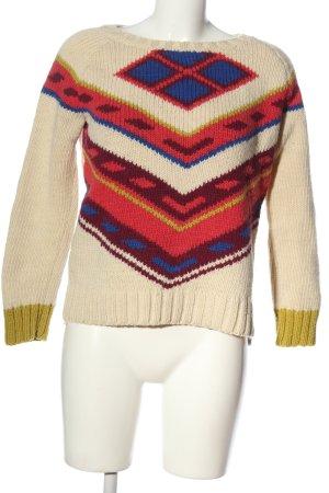 Komodo Crochet Sweater graphic pattern casual look