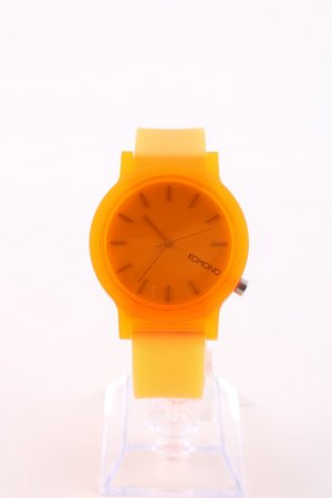 Komono Self-Winding Watch light orange casual look