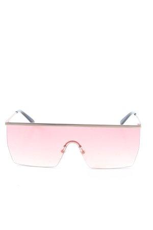 Komono eckige Sonnenbrille pink Casual-Look