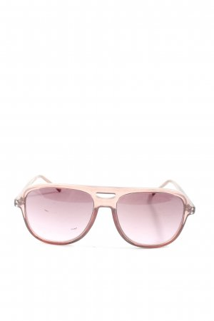 Komono eckige Sonnenbrille pink-nude Casual-Look