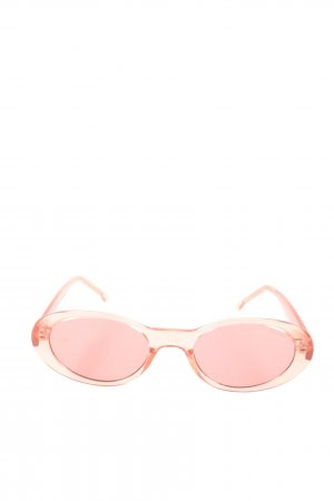 Komono Retro Glasses pink casual look