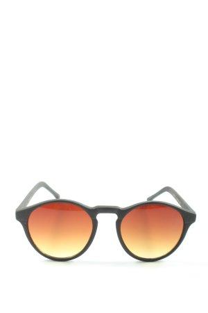 Komono Lunettes de soleil rondes gris clair élégant