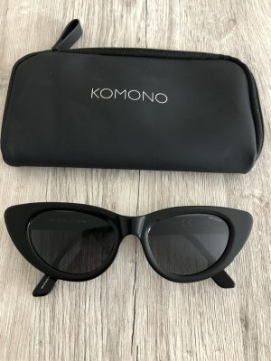 Komono Butterfly bril zwart
