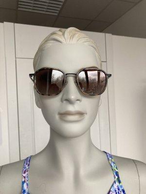 Komono Kwadratowe okulary przeciwsłoneczne czarno-brązowy