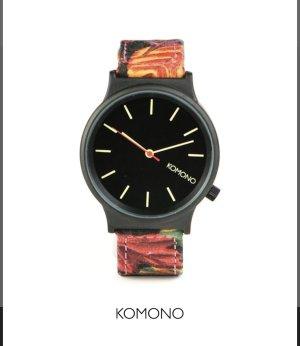Komono Wizard Print Automn Leaf Armbanduhr unisex