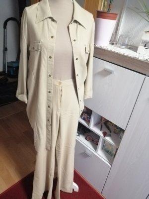 YGCC Tailleur-pantalon crème