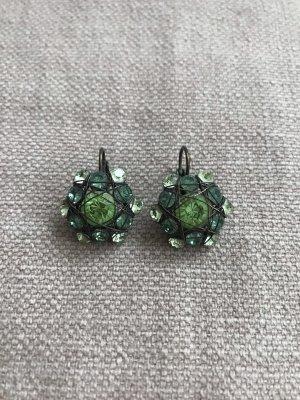 Komplott Ohrhänger grün