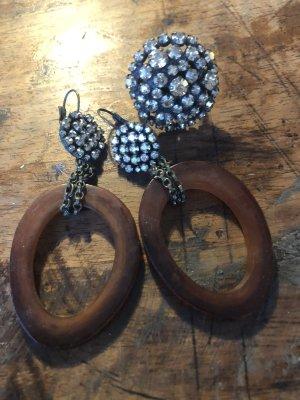 Komplott Ohrringe und Ring