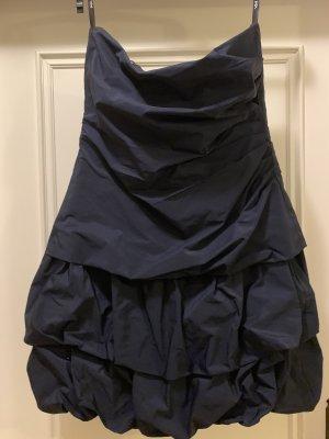 Appelrath-Cüpper Robe épaules nues bleu foncé