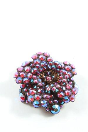 Konplott Brooch bronze-colored-red elegant