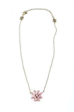 Konplott Colliers ras du cou argenté-rose style décontracté