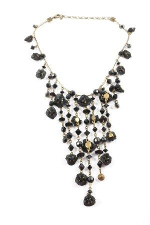 Konplott Collar estilo collier color oro-negro look efecto mojado