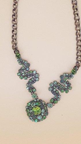 Konplott Collar estilo collier verde-verde bosque