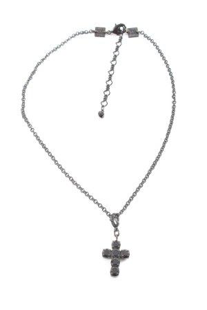 Konplott Halskette schwarz Casual-Look
