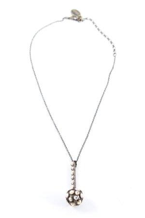 Konplott Halskette silberfarben-braun Casual-Look
