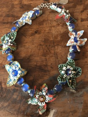 Konplott Collar estilo collier azul