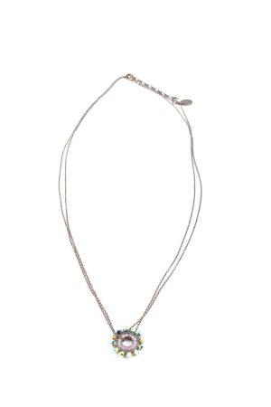 Konplott Halskette blau-bronzefarben Street-Fashion-Look