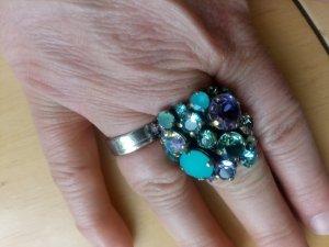 Konplott Ring türkis, grün