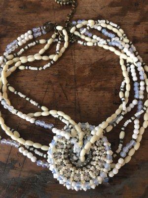 Konplott Collar estilo collier blanco