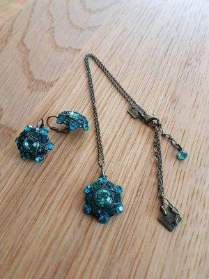 Konplott Set bestehend aus einer Halskette und Ohrringen