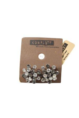 Konplott Statement Earrings silver-colored elegant