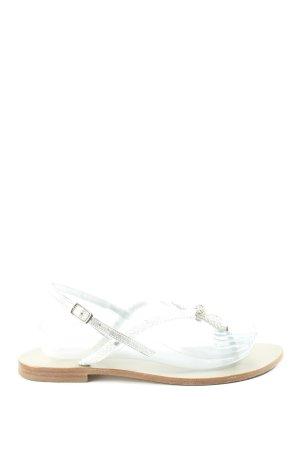 Konstantin Starke Dianette sandalen zilver casual uitstraling
