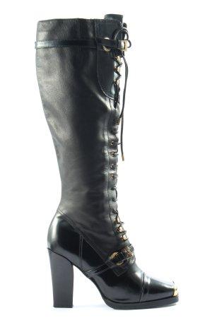 Konstantin Starke Botas de tacón alto negro look casual