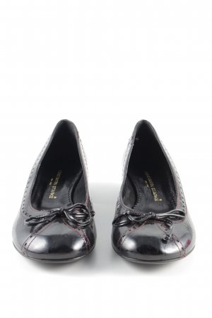 Konstantin Starke Lackballerinas schwarz Business-Look