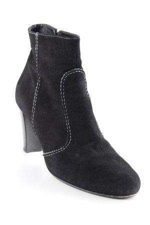 Konstantin Starke Reißverschluss-Stiefeletten schwarz schlichter Stil