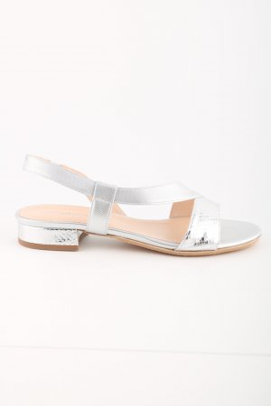 Konstantin Starke Strapped Sandals silver-colored animal pattern casual look