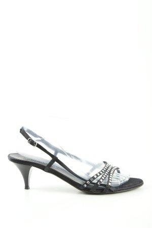 Konstantin Starke Riemchen-Sandaletten schwarz Elegant