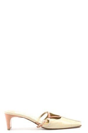 Konstantin Starke Zomerschoenen met hak room-bruin casual uitstraling