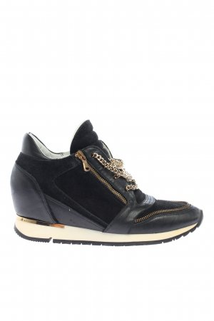 Konstantin Starke Wedge Sneaker black-white casual look