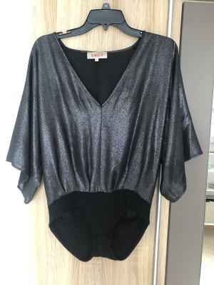 Kontatto Basic Bodysuit dark grey