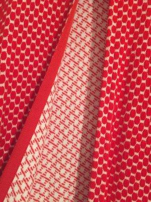 Kontatto Cardigan rosso-bianco