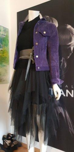 Barneys New York Tulle Skirt black