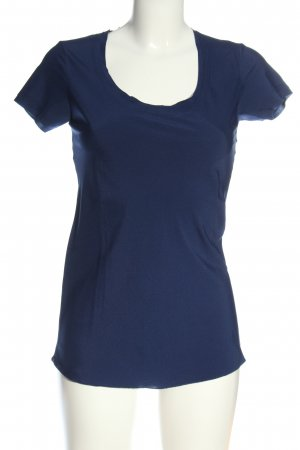 Kontatto Short Sleeved Blouse blue casual look